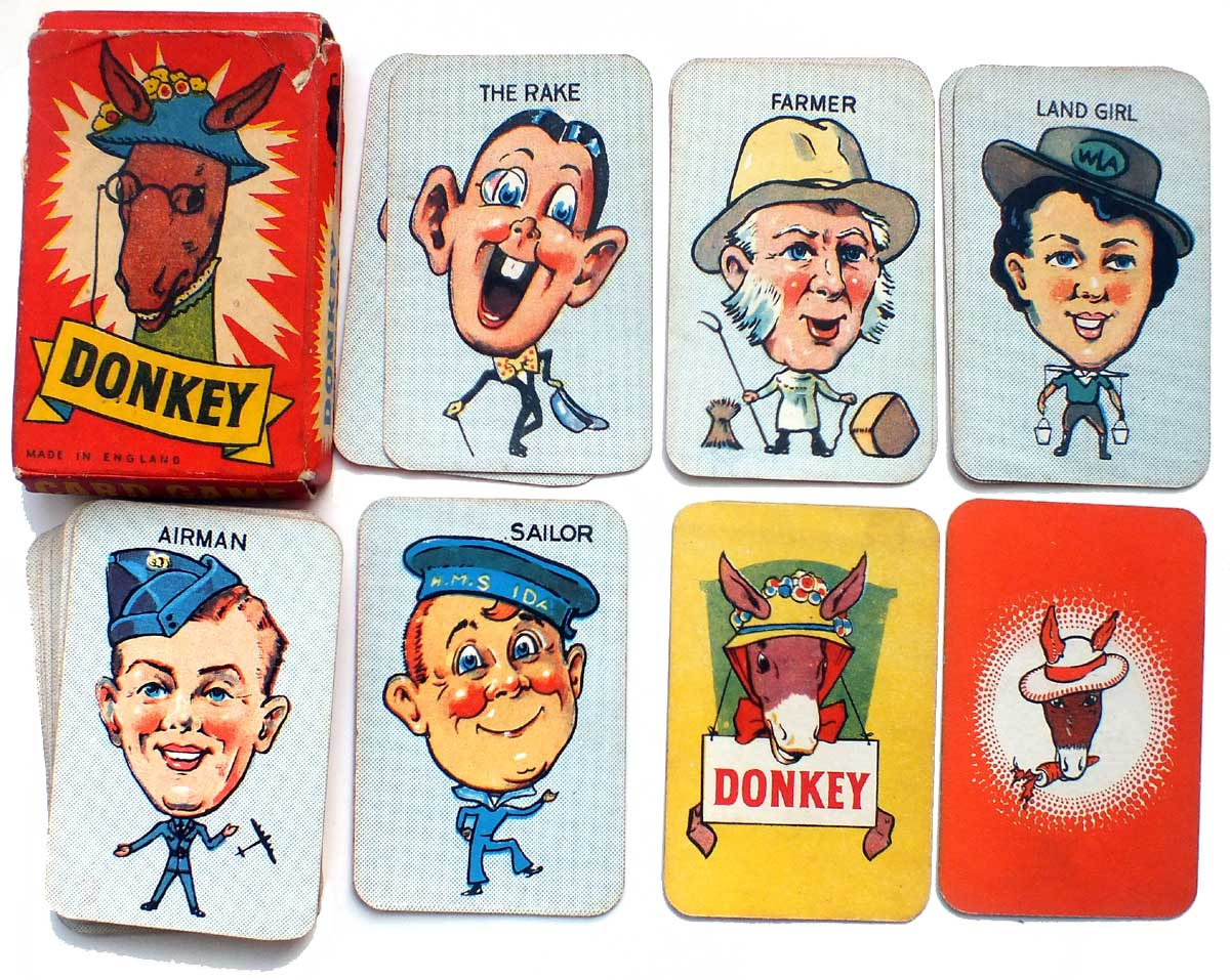 Clifford 'Donkey' card game, c.1948