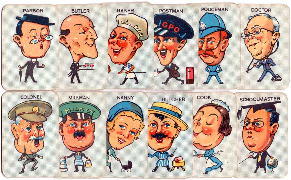 Clifford 'Donkey' card game, c.1950s