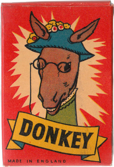Clifford Series 'Donkey' card game, c.1948