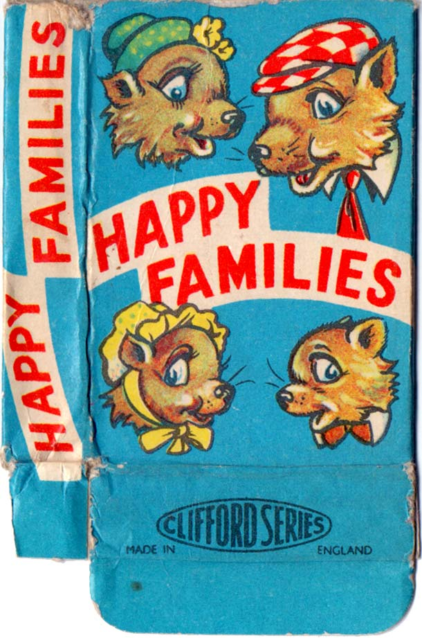 'Clifford Series' Happy Families, c.1960