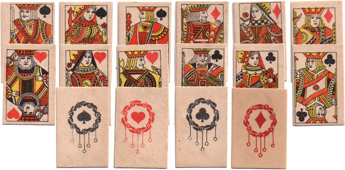 Clifford games miniature children's pack, c.1945