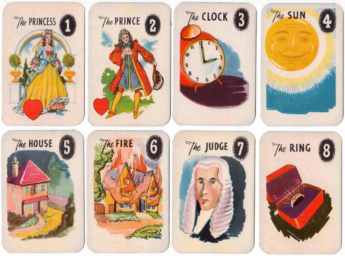 The 'Mystic' Fortune Teller card game by Clifford Toys