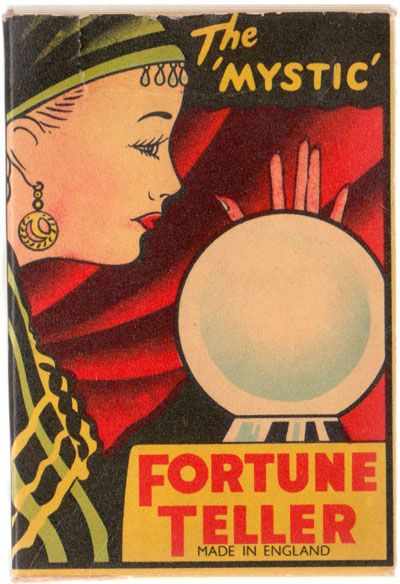 The 'Mystic' Fortune Teller card game published by Clifford Toys