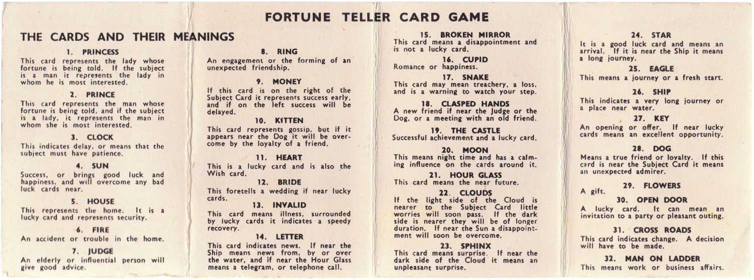 The 'Mystic' - The World of Playing Cards