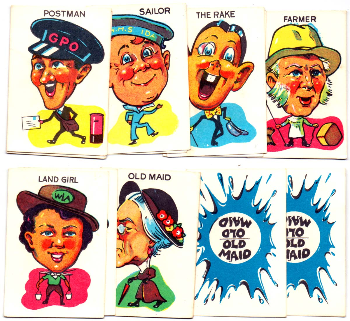 Clifford Toys 'Old Maid', c.1960s