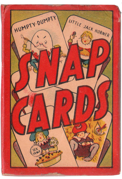 Clifford Series Snap Cards, c.1950