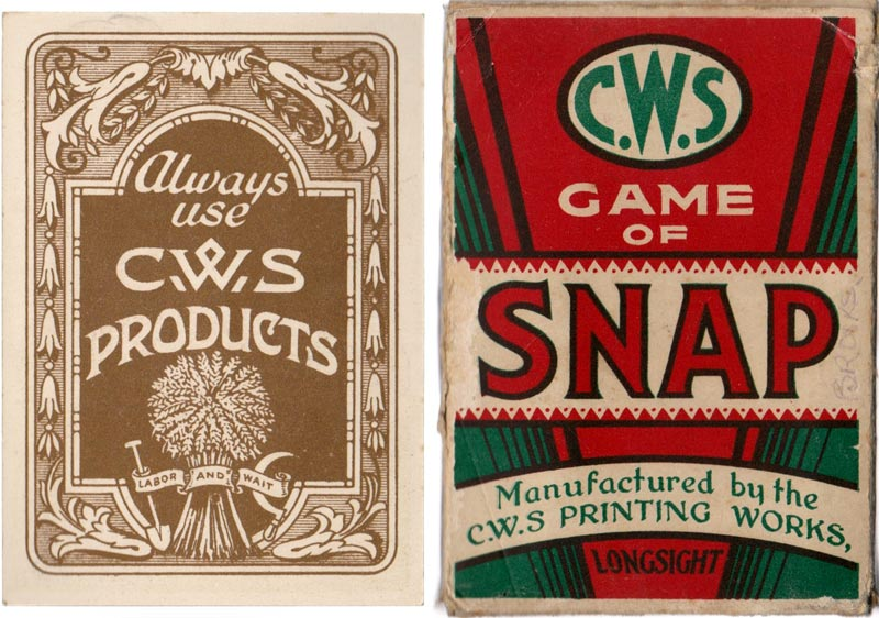 C.W.S. Game of Snap, Manchester (UK), c.1930s