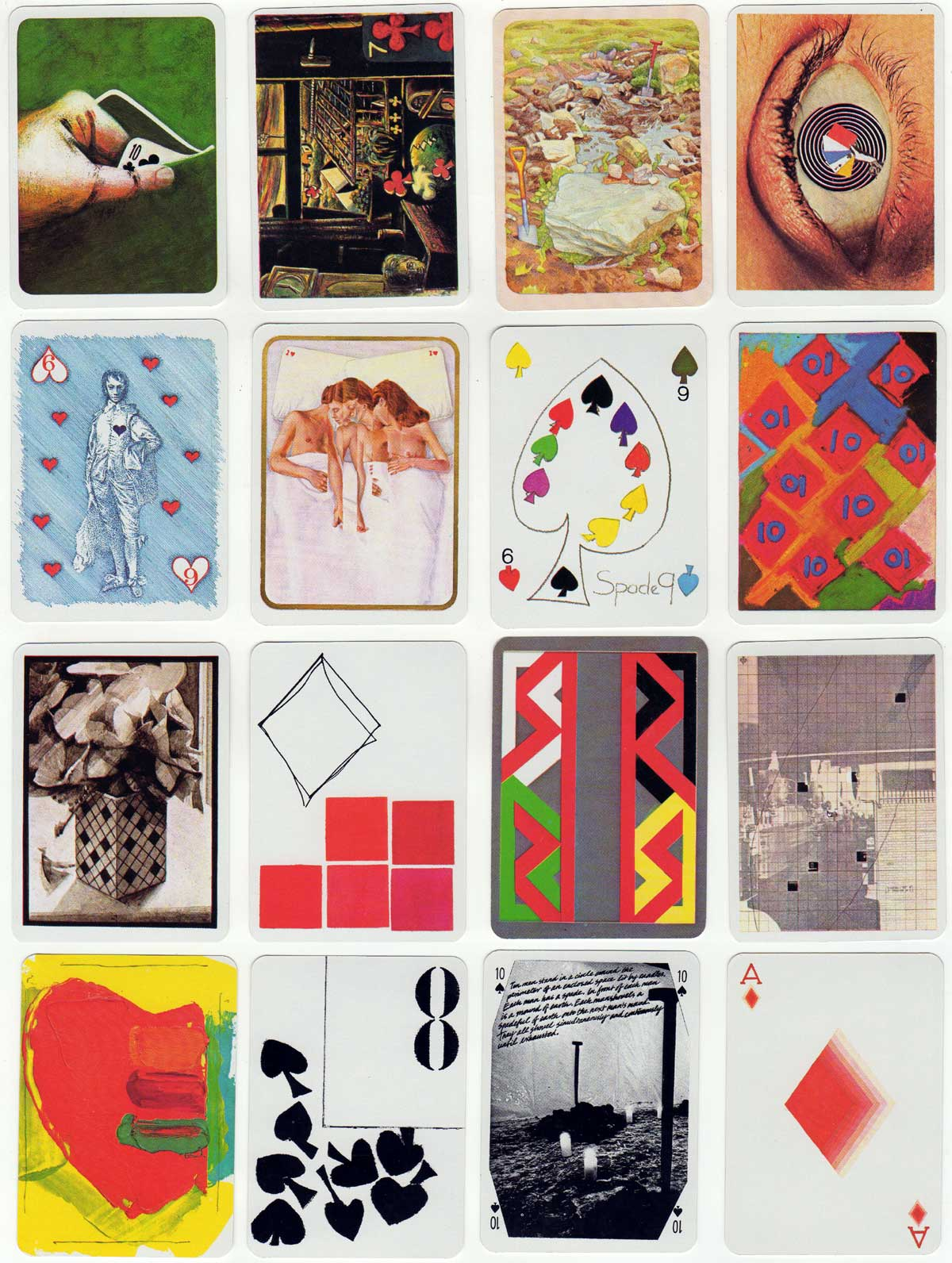 The Deck of Cards by Andrew Jones Art 1979