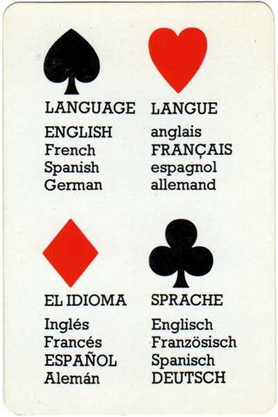 'Desperanto' language game by Qui Vive Ltd, c.1990
