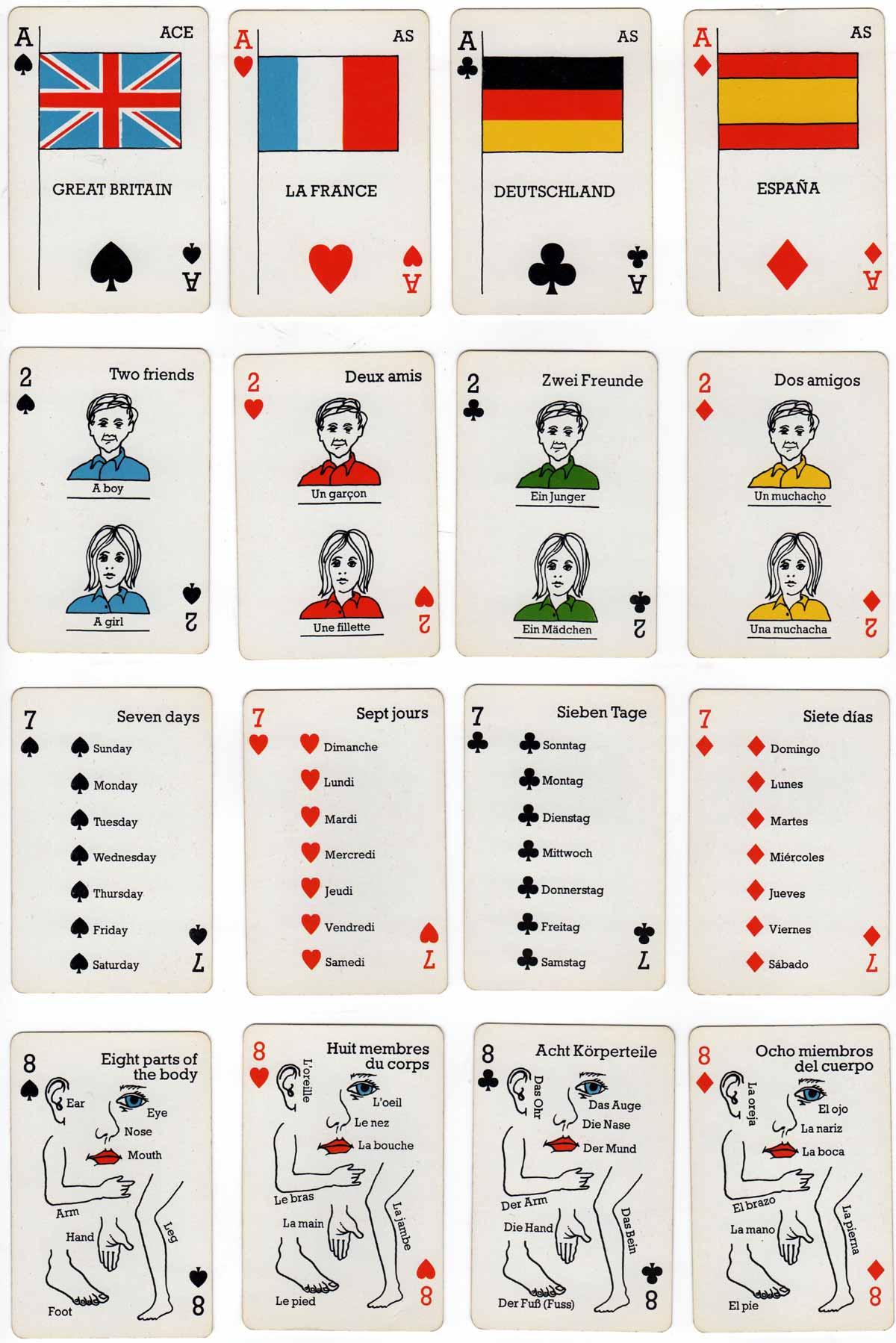 Desperanto language game by Qui Vive Ltd, c.1990