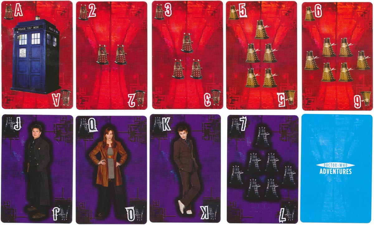 'Doctor Who Adventures' playing cards
