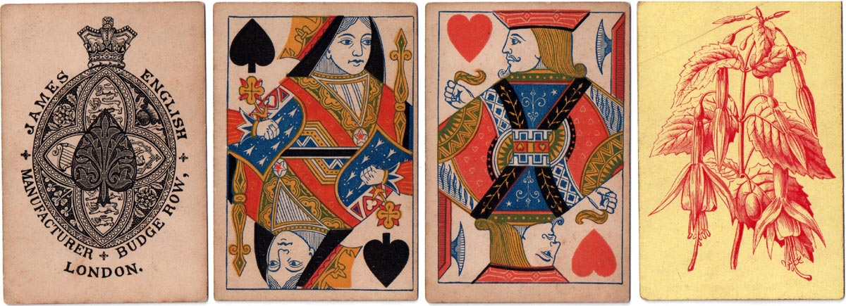 cards published by James English, c.1870