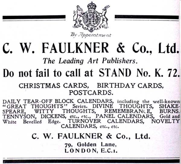 1922 advertisement