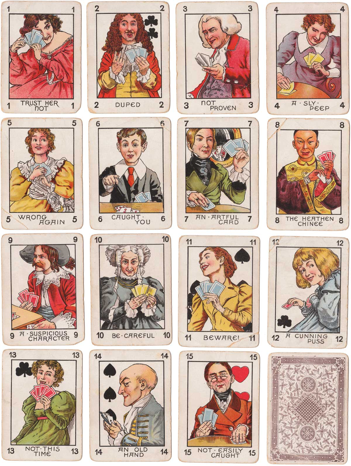 Bluffing published by Faulkner & Co, c.1896