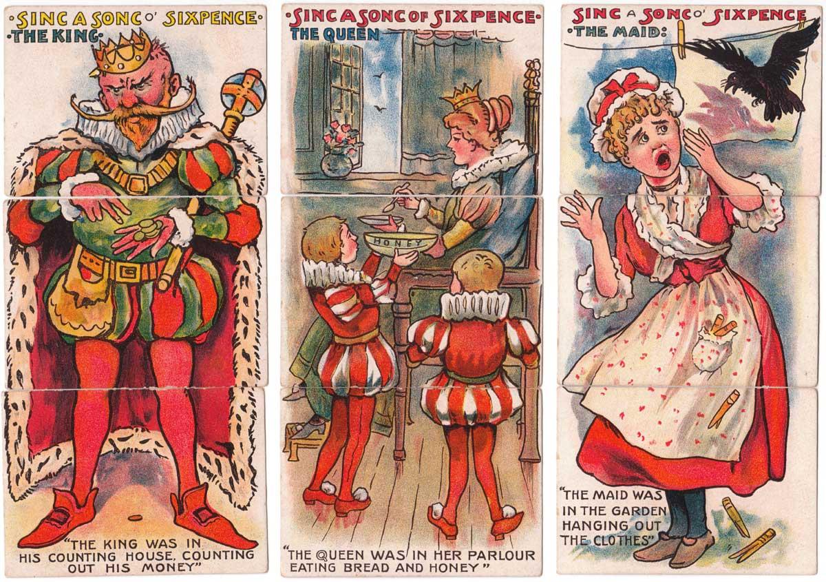 Fairy Legend Misfitz published by C W Faulkner & Co Ltd, c.1908