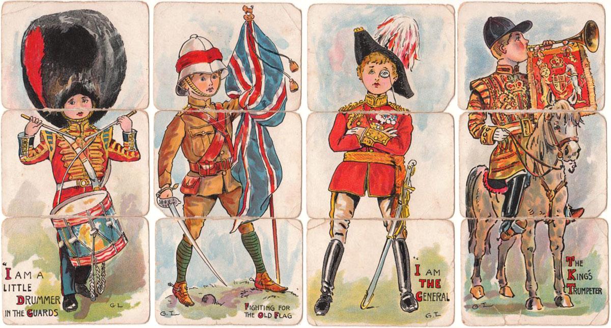 """Faulkner's """"Patriotic Misfitz"""", c.1909"""