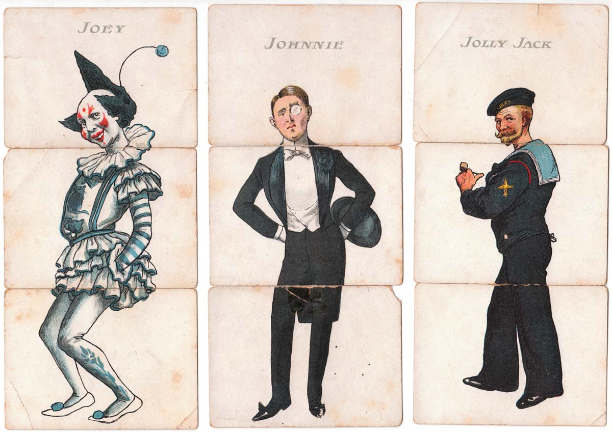 Society Misfitz published by C.W Faulkner & Co, c.1904