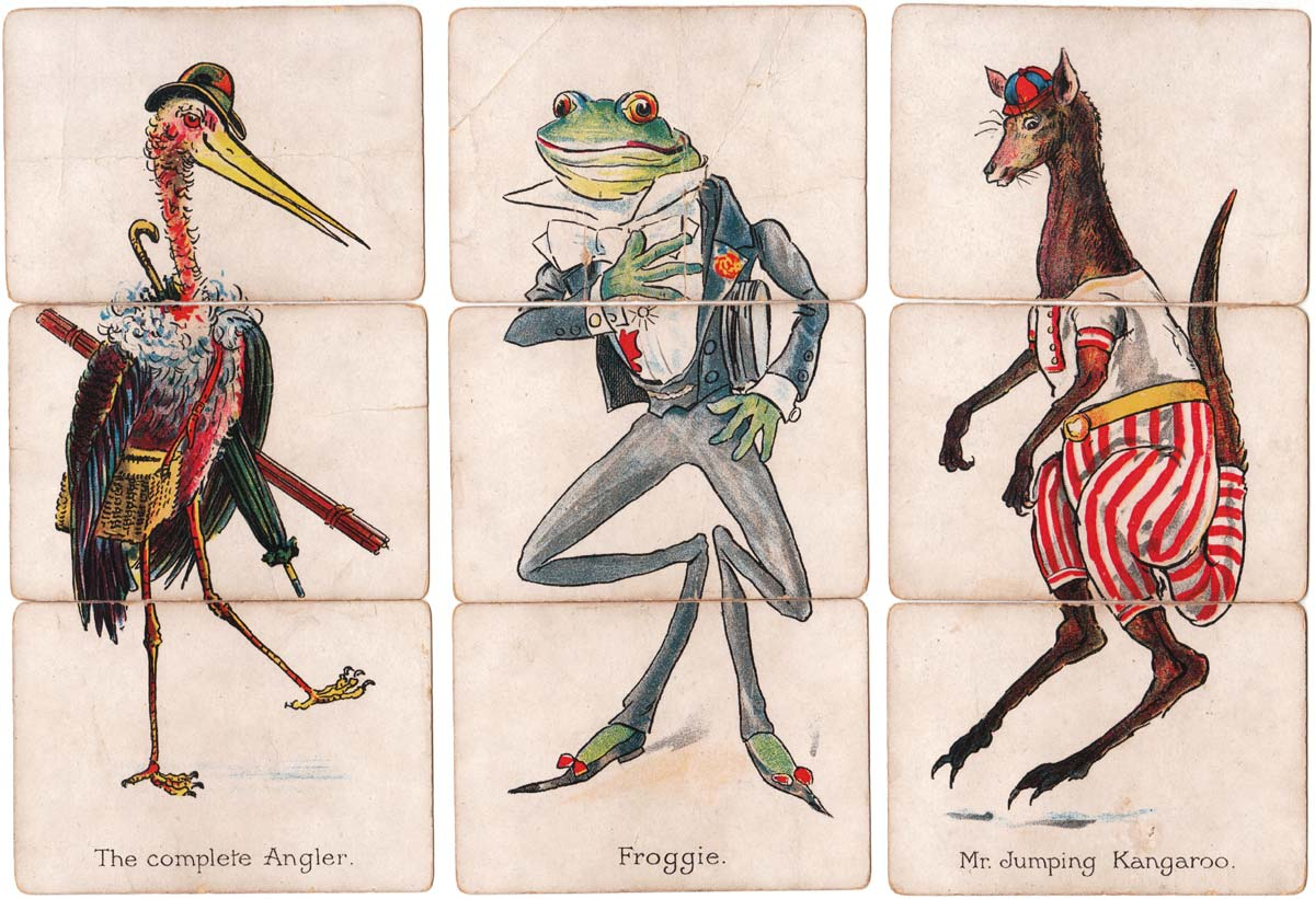 Zoological Misfitz card game published by C.W. Faulkner