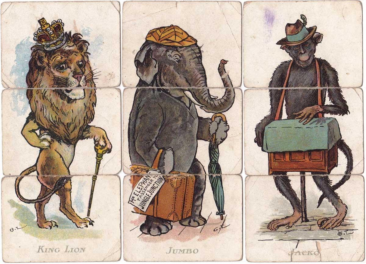 Zooloo Misfitz designed by George Lambert, c.1907