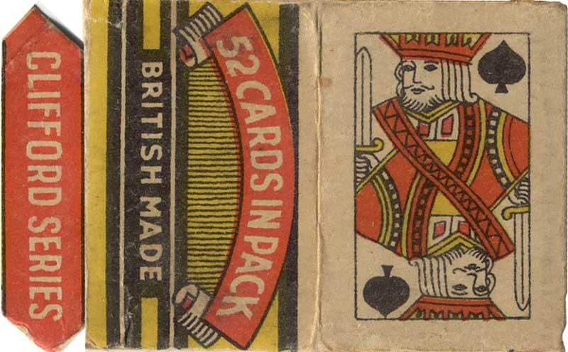Clifford Toys, (England), 1950, FLEVECO miniature cards