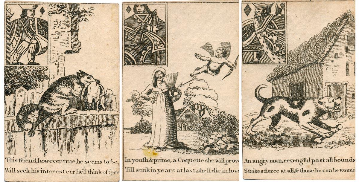 Georgian Fortune Telling Cards, c.1800