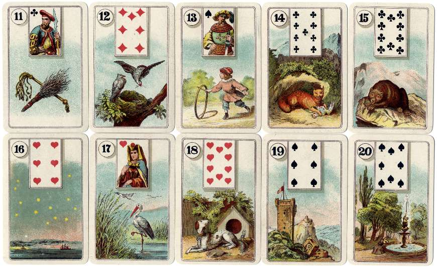 Cartes Lenormand - The World of Playing Cards