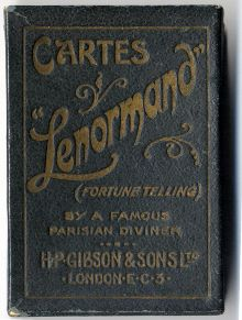 Box from Cartes Lenormand by H.P. Gibson & Sons Ltd., 1920s