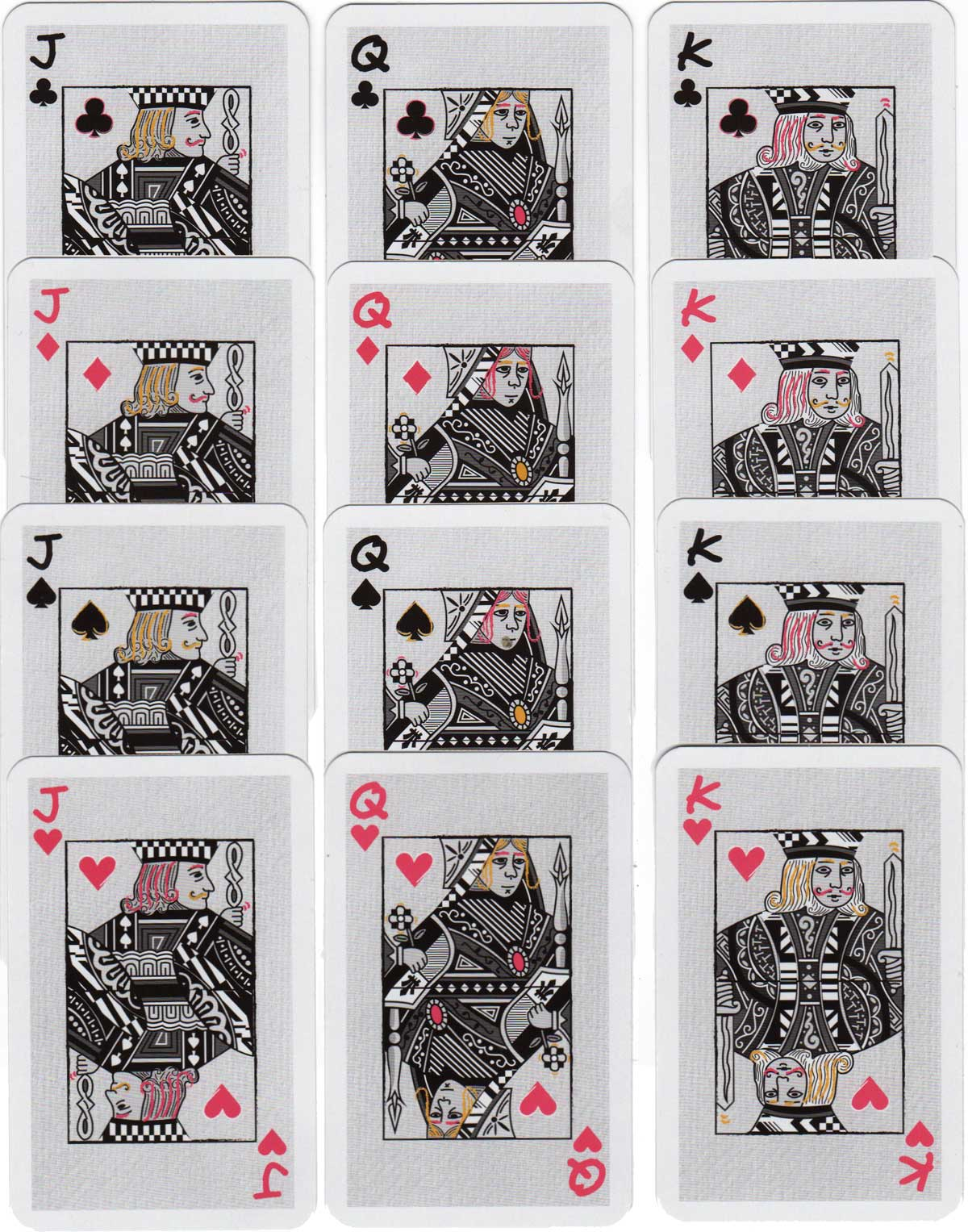 Giffgaff mobile network playing cards, 2017