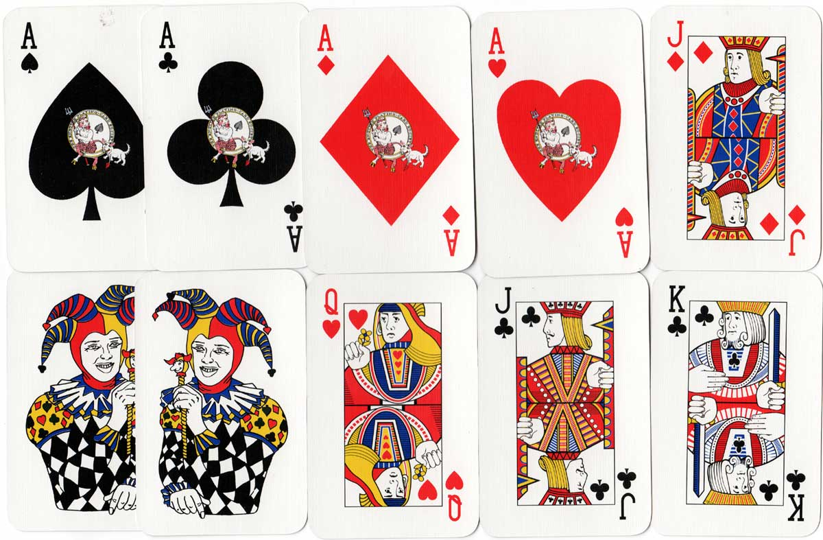 English Playing Card Society Fifteenth Anniversary pack, 1998