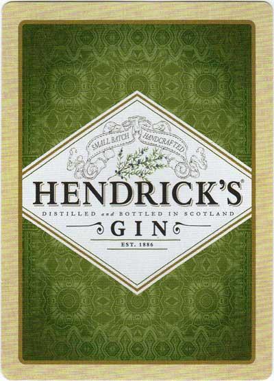 advertising deck for Hendrick's Gin, c.2015
