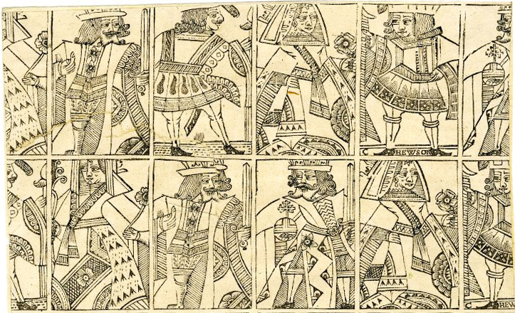 Hewson sheet, c.1650