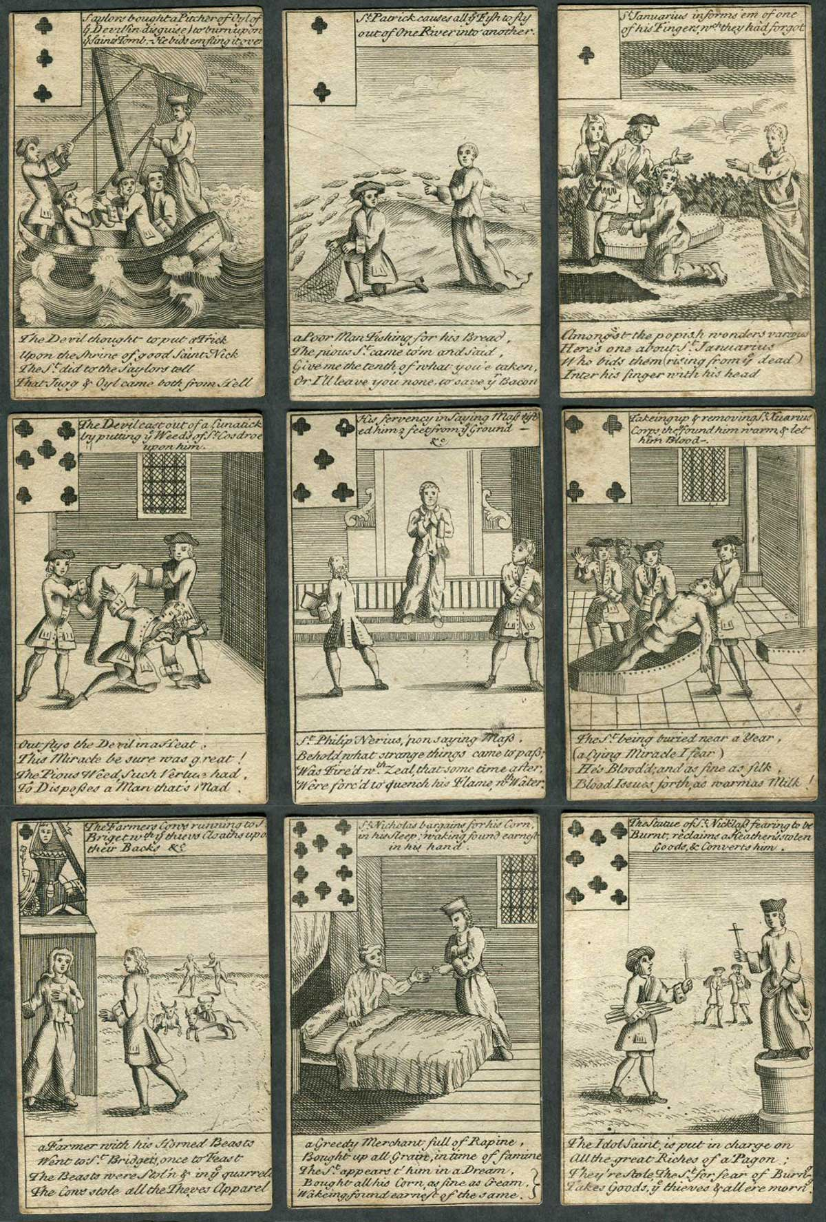 Illustrated Playing Cards, c.1740