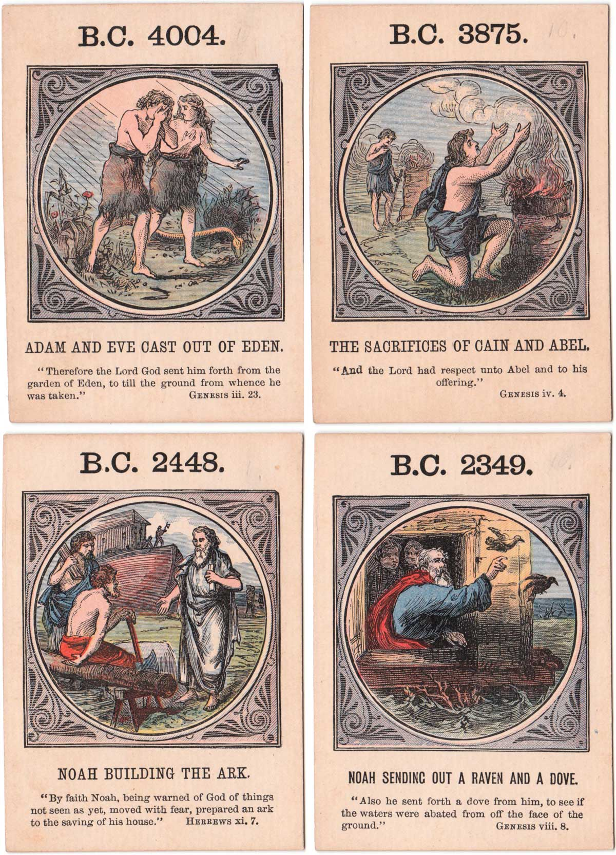 """Anno Mundi"" by Jaques & Son, c.1875"