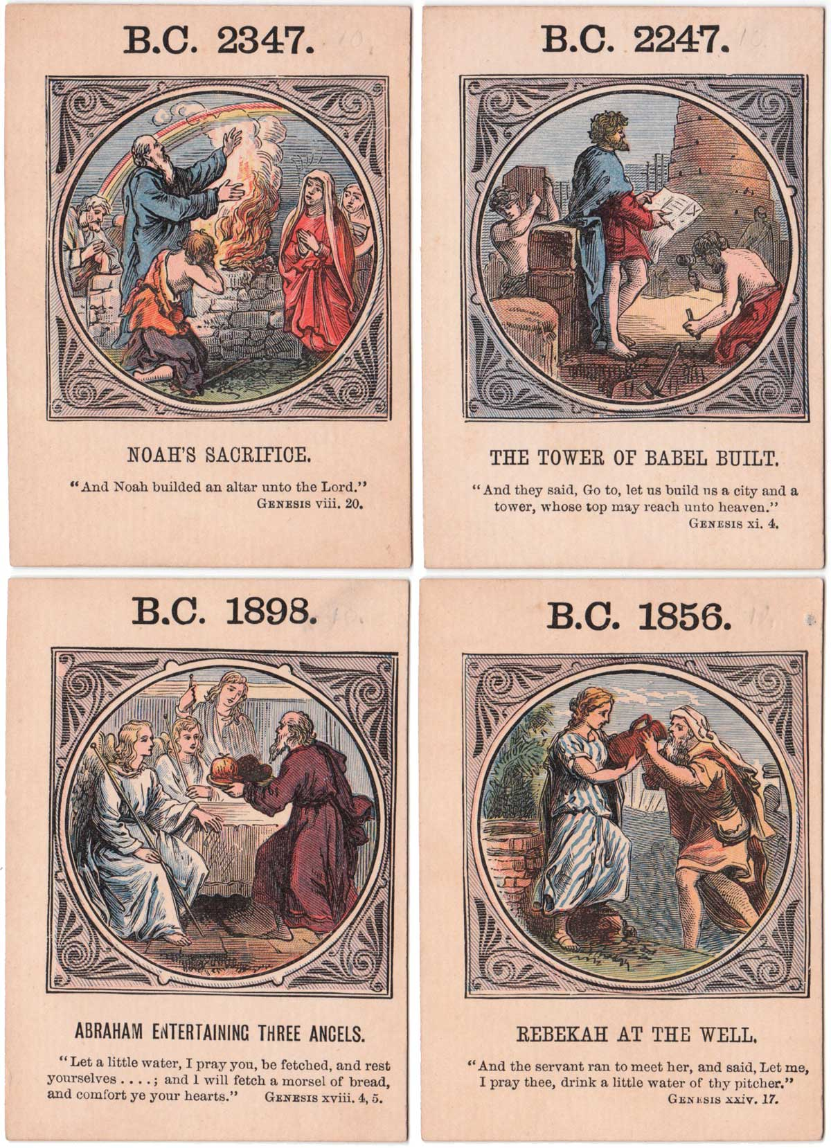 """""""Anno Mundi"""" by Jaques & Son, c.1875"""
