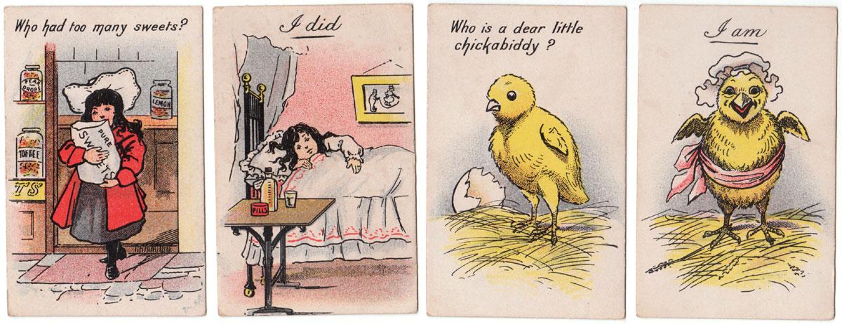 """Candid Confessions"" published by Jaques & Son, Ltd, c.1905"