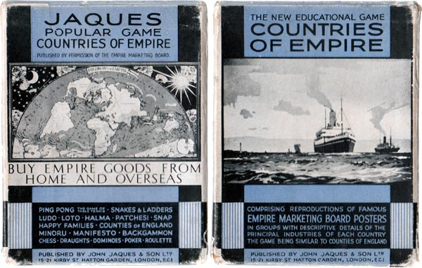 Countries of Empire published by John Jaques & Son Ltd, c.1930s