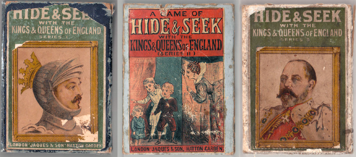 Hide & Seek with the Kings & Queens of England by John Jaques & Son
