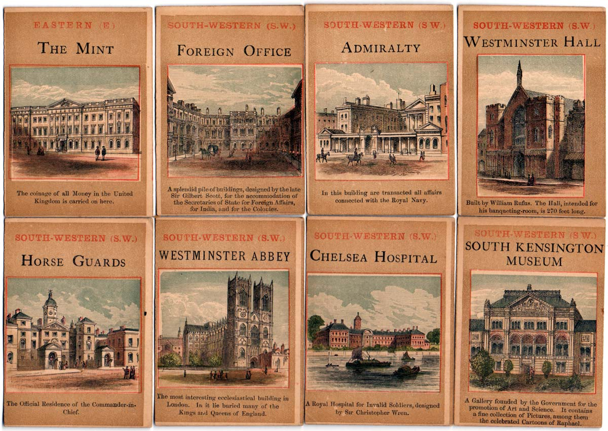 Jaques' The London Post Card Game, c.1895