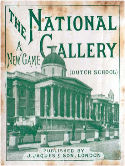National Gallery (Dutch School) published by J. Jaques & Son, c.1895