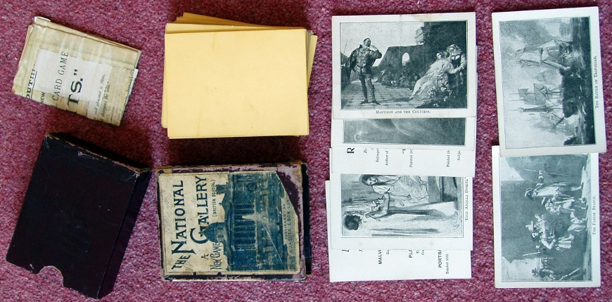 Jaques' The National Gallery Card Game, c.1895
