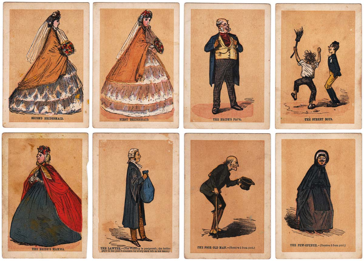 The Wedding game published by Jaques & Son, c.1875