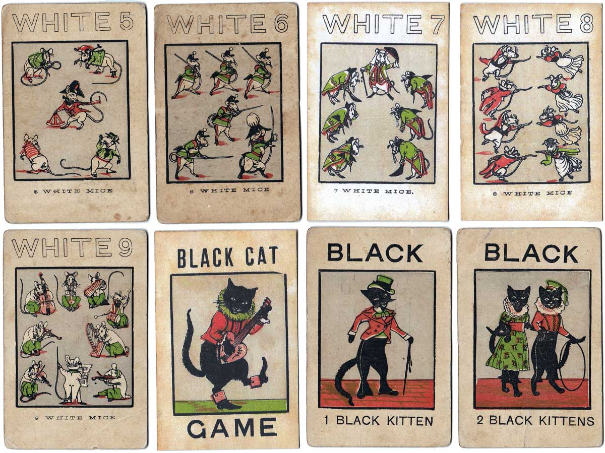 The White Cat game, Jaques & Son, c.1860s
