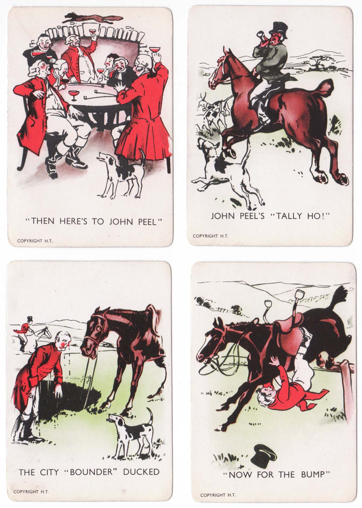 """""""D'Ye Ken John Peel"""" by Greta Games, Carlisle, c.1920"""