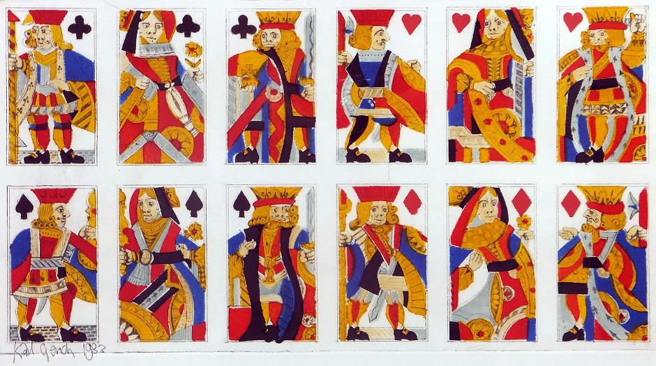 Karl Gerich No.1: Early English pattern, 1982