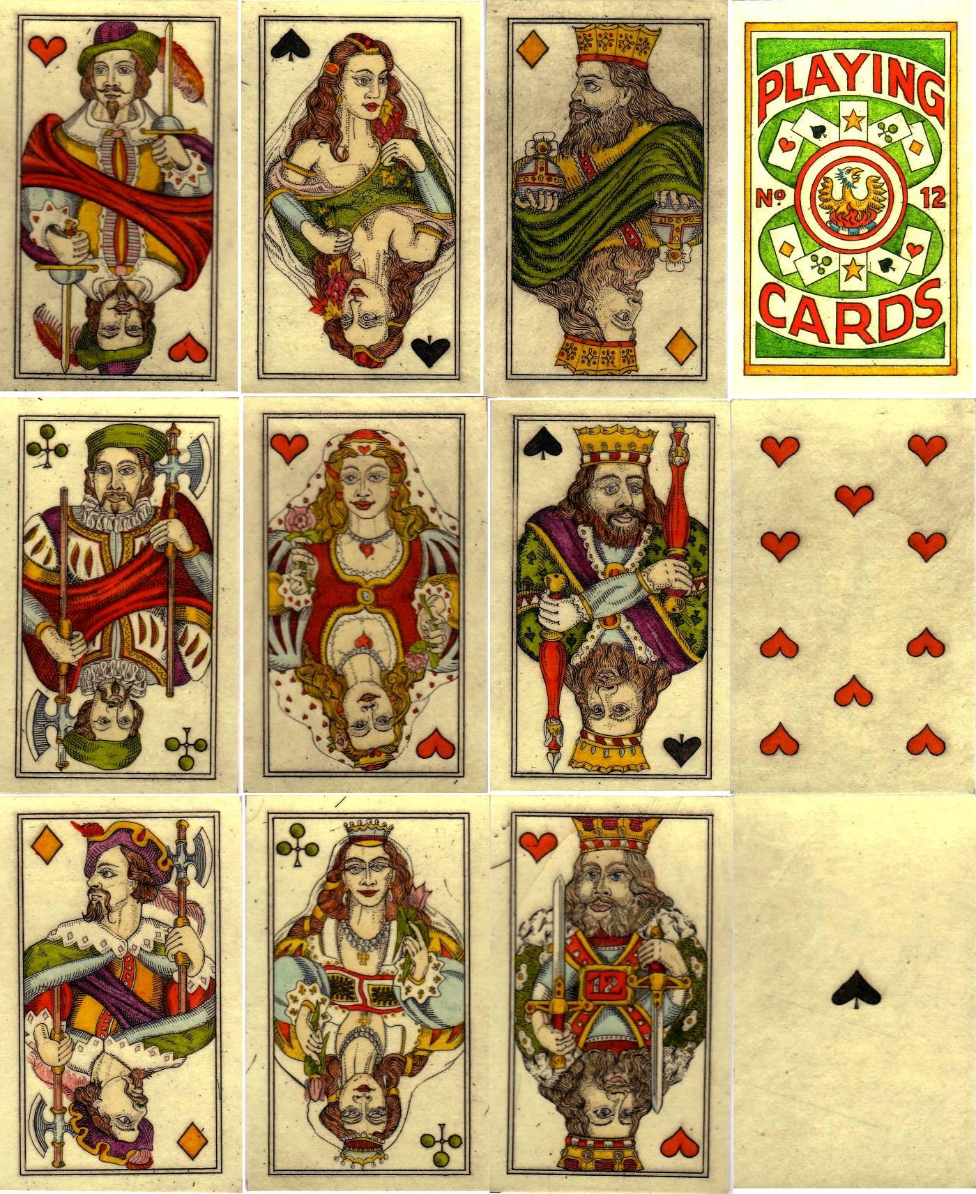 """""""Rheinland Playing Cards"""" by Karl Gerich, 1991"""
