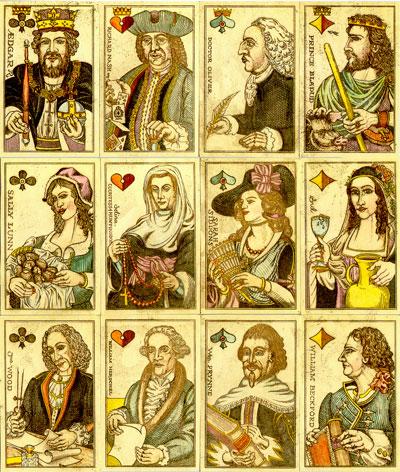 Karl Gerich's Beautiful Bath playing cards no.23, 1996