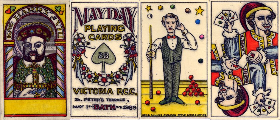 extra cards from Karl Gerich's 'Mayday' pack first published in 1989