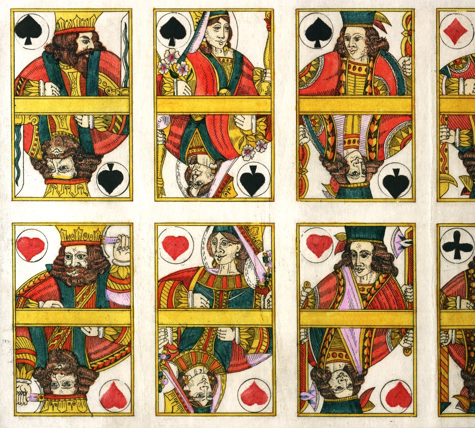 Karl Gerich: Austrian style playing cards, c.1982