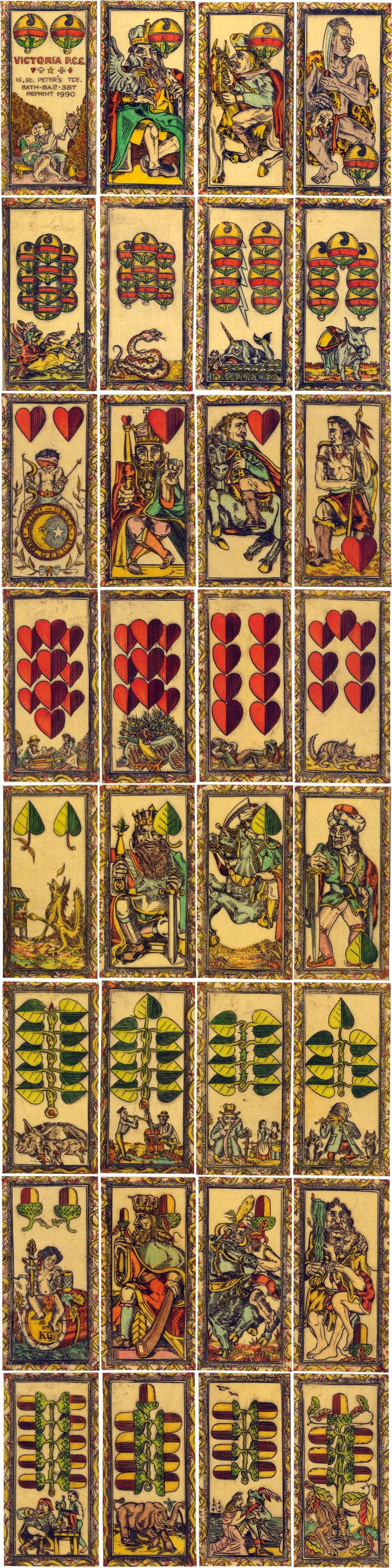 Karl Gerich No.9: Deutche Karten