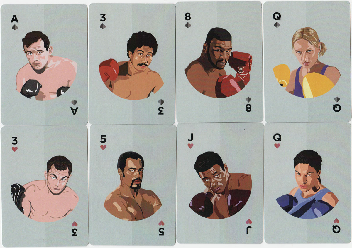 Boxing Greats published by KickarseCards, 2019